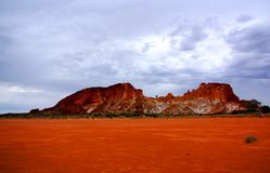 tęczy krajobrazowa dolina zdjęcia stock