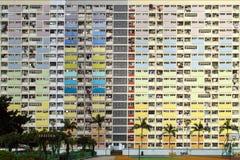 Tęczy nieruchomość w Choi Wieszał, Hong Kong zdjęcie stock