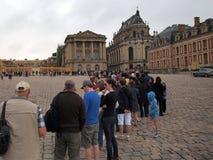 Tęsk kolejka, pałac Versailles Zdjęcie Royalty Free