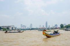 Tęsk motorowa ogon łódź Fotografia Stock