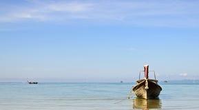 Tęsk ogon łódź przy Aonang Krabi Obraz Royalty Free