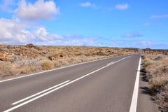 Tęsk Osamotniony Roadtravel, droga, asfalt, krajobraz, autostrada, pustynia, natura, transport, ulica, podróż, przejażdżka, pusta fotografia royalty free