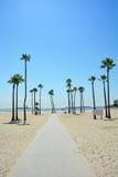 Tęsk plaża, CA Fotografia Stock