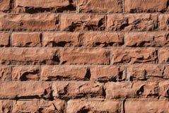 tła ściana z cegieł Zdjęcie Royalty Free