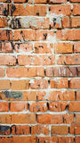Tła ściana z cegieł z czarnymi punktami Zdjęcie Royalty Free