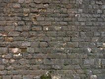 Tła ściana z cegieł stara tekstura Rocznik fotografia stock