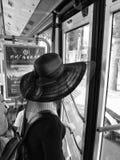tła ścinku kapeluszu odosobnionej ścieżki słomiany biel Obraz Royalty Free