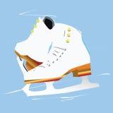 tła ścinku postać odosobniona ścieżka jeździć na łyżwach biel Zdjęcia Stock