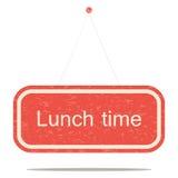 tła śmieszny gwinei lunch nad świniowatym portreta czas biel ilustracja wektor