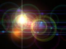 tła światło obrazy stock