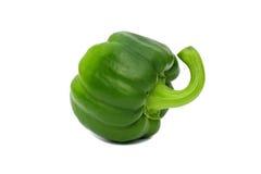 tła świeża zieleń odizolowywający pieprzowy biel Zdjęcia Stock