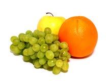tła świeżej owoc odosobniony biel Obrazy Royalty Free