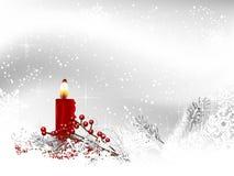tła świeczki bożych narodzeń dekoraci prezenta złoty xmas Obrazy Royalty Free