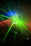 tła świetlicowy noc przyjęcie Zdjęcia Royalty Free