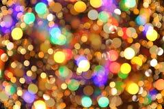 tła żarówek bożych narodzeń światła wizerunku światła Fotografia Royalty Free