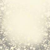 tła żarówek bożych narodzeń światła wizerunku światła Złoty Wakacyjny Abstrakcjonistyczny Defocused b Zdjęcie Stock