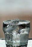 tła 08 szklankę wody Obrazy Royalty Free