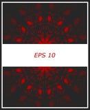 Tła abstrakcjonistycznego ornamentBackground tła abstrakcjonistyczny zmrok - szarość z czerwienią ilustracji