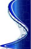 tła abstrakcjonistyczny błękit Fotografia Stock