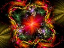 tła abstrakcjonistyczny fractal ilustracji