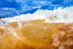 tła abstrakcjonistyczny morze Zdjęcie Royalty Free