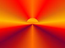 tła abstrakcjonistyczny słońce Zdjęcia Royalty Free