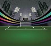 tła abstrakcjonistyczny stadium piłkarski Zdjęcie Stock