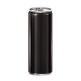 tła aluminiowy czerń może biel Obrazy Royalty Free