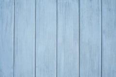 tła błękit ściana drewniana Obraz Royalty Free