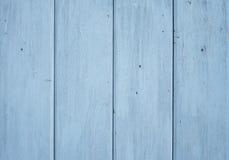 tła błękit ściana drewniana Zdjęcia Stock
