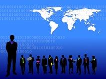 tła błękit biznes Zdjęcie Stock