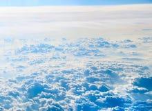 tła błękit chmurnieje cloudscape niebo Niebieskie niebo i biel chmura zdjęcia stock