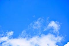 tła błękit chmurnieje niebo Zdjęcie Stock