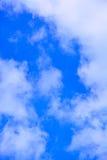 tła błękit chmurnieje niebo Obraz Stock