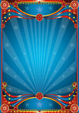 tła błękit cyrk Obrazy Stock