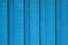 Tła błękit drewno Fotografia Royalty Free