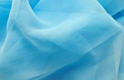 tła błękit jedwab obrazy stock