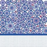 tła błękit kształty Obrazy Royalty Free