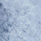 tła błękit lód wykłada wzory Zdjęcia Royalty Free