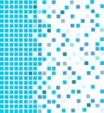 tła błękit mozaika Zdjęcie Stock