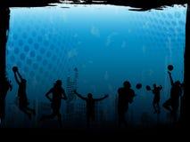 tła błękit sporty Fotografia Stock