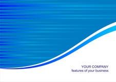 tła błękit szablon Fotografia Stock