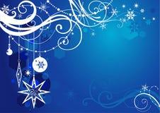 tła błękit zima Fotografia Stock