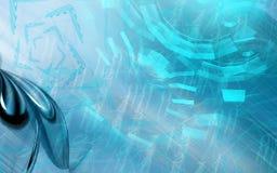 tła błękita colour ilustracji