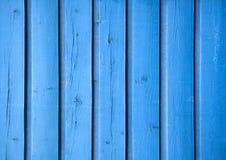 Tła błękita deski niebieska konsystencja Zdjęcia Royalty Free