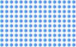 Tła błękita kwiaty Royalty Ilustracja