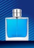 tła błękitny butelki pachnidło royalty ilustracja