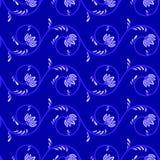 tła błękitny kwiatów ilustraci wektor Fotografia Royalty Free
