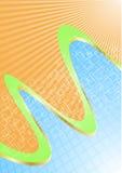 tła błękitny pomarańcze wektor ilustracja wektor