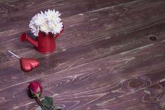 tła błękitny pudełka pojęcia konceptualny dzień prezenta serce odizolowywająca biżuterii listu życia dutki czerwień kształtował s Fotografia Royalty Free